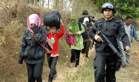 Pengungsi Kerusuhan sampang