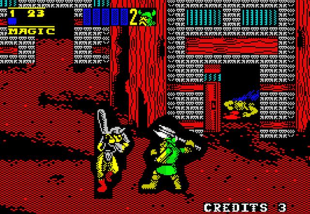 Golden Axe II - Sega Genesis