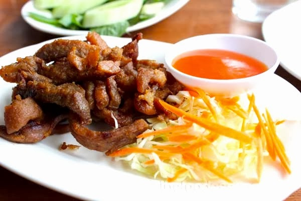 thai style pork neck 泰式豬頸脊 thai style grilled pork neck ...