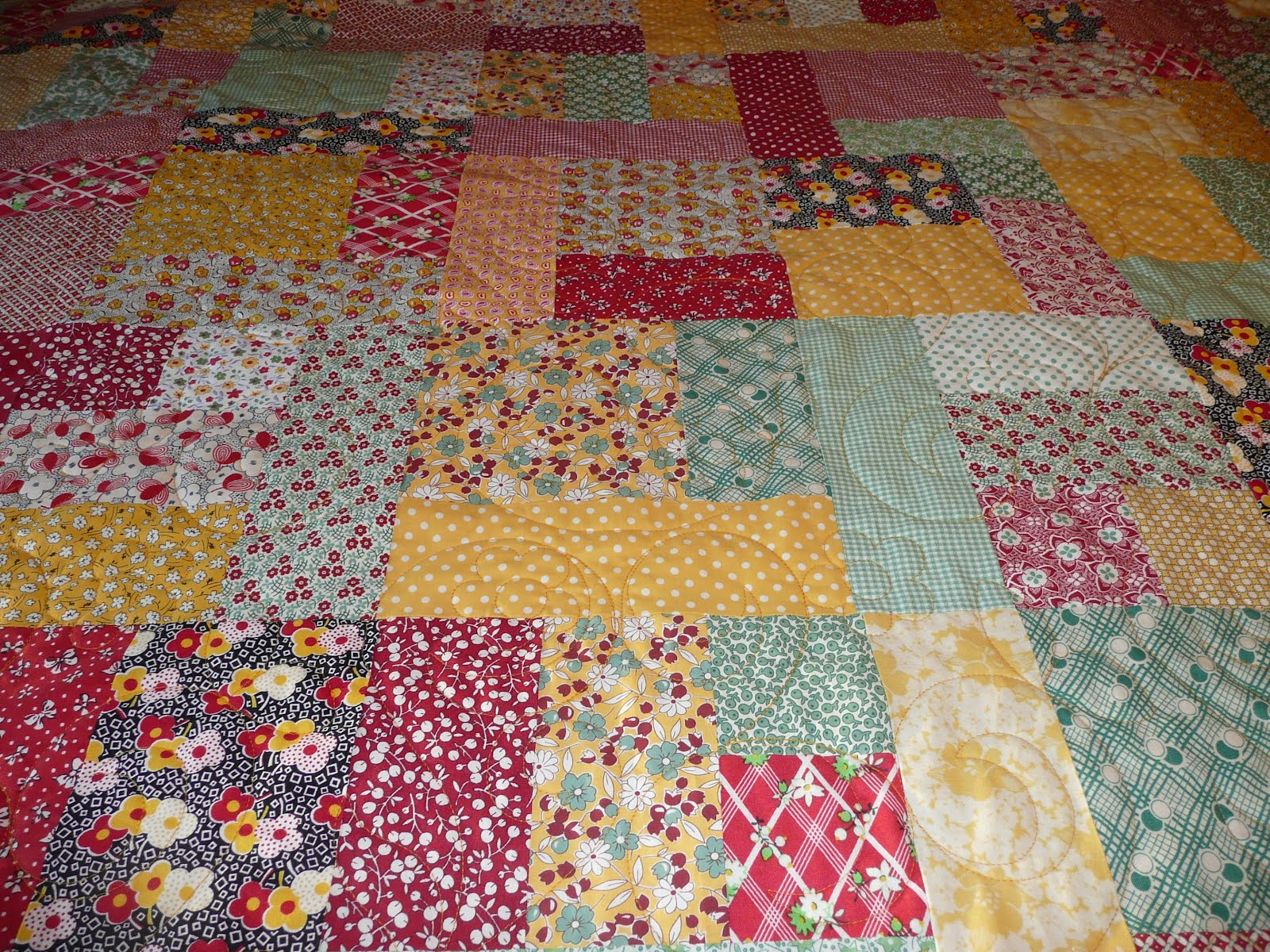 Acorn Ridge Quilting: Connie's Yellow Brick Road Quilt : yellow brick road quilt instructions - Adamdwight.com