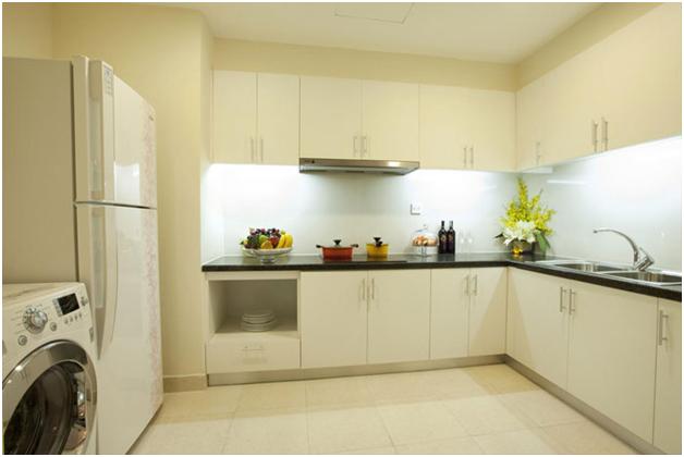 Thiết kế phòng bếp căn hộ mẫu tòa T11 Times City