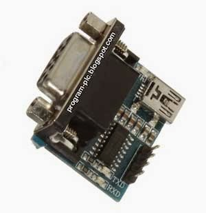RS232 Serial Port To TTL Converter Module
