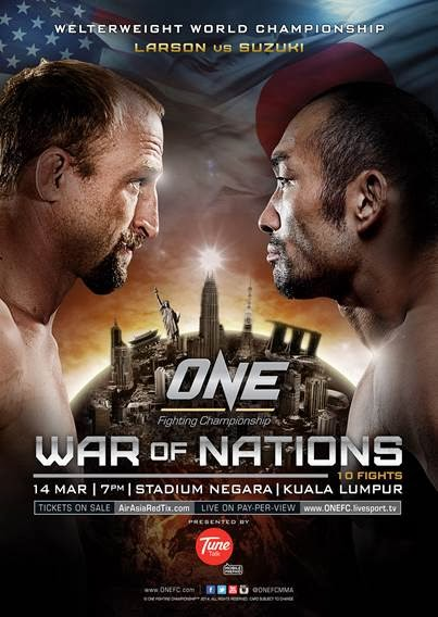 ONE FC: War of Nations Results