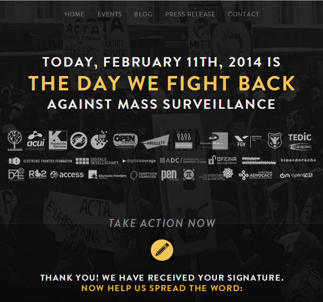 Against Mass Surveillance