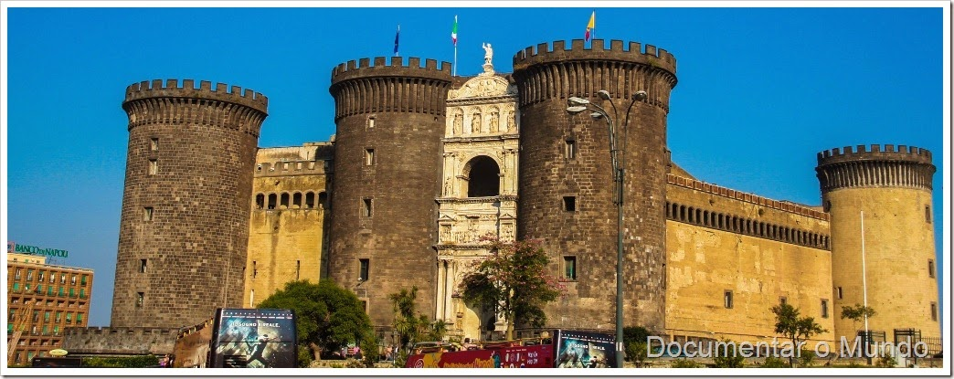 Castelo Novo, Maschio Angioino, Nápoles, Itália