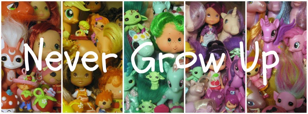 Never Grow Up:  A Mom's Guide to Dolls and More!