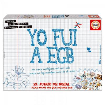 TOYS : JUGUETES - Yo fui a EGB | Juego de Mesa Educa 2015 | Comprar en Amazon España