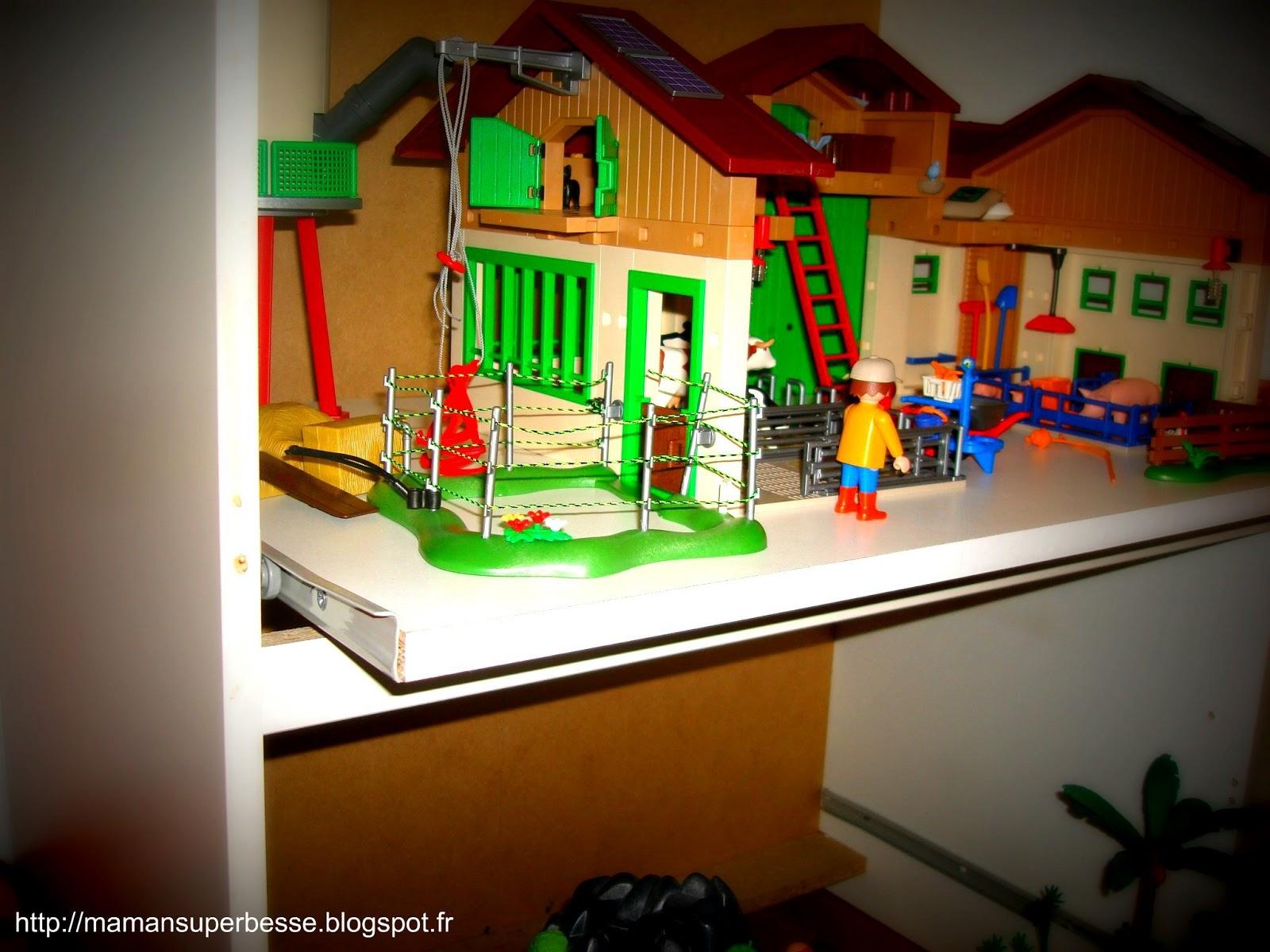 meuble playmobil organisation prt jouer