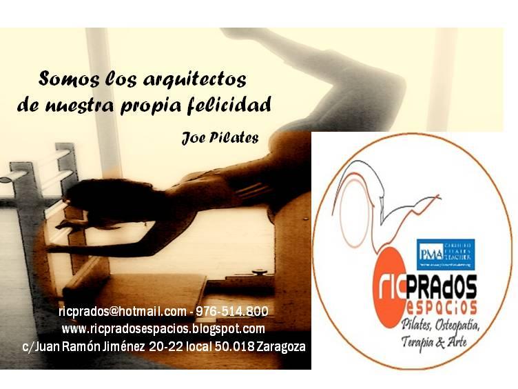 Pilates en Zaragoza RicPrados Espacios Pilates Osteopatia Terapia & Arte