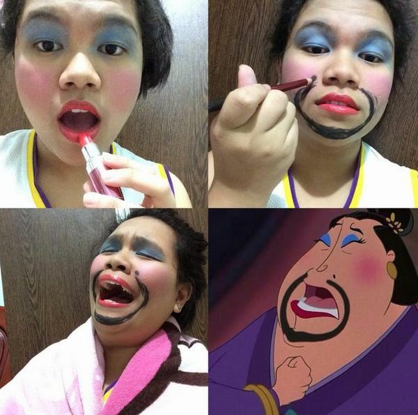 The Matchmaker from Mulan Disney film #mekeuptransformation