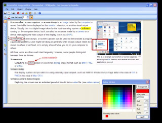 Greenshot 0.8.1-1220: Software Gratis yang Simple dan Powerfull Untuk Kegiatan Screenshots Anda