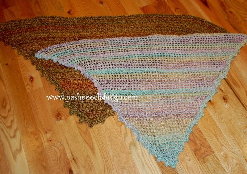 Posh Pooch Designs Dog Clothes: Everyday Shawl Crochet ...