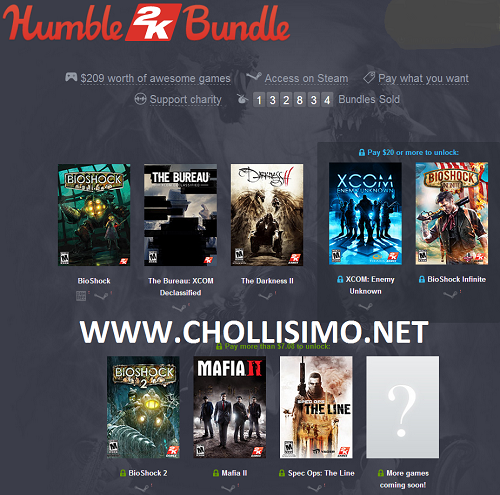 Chollo Humble Bundle