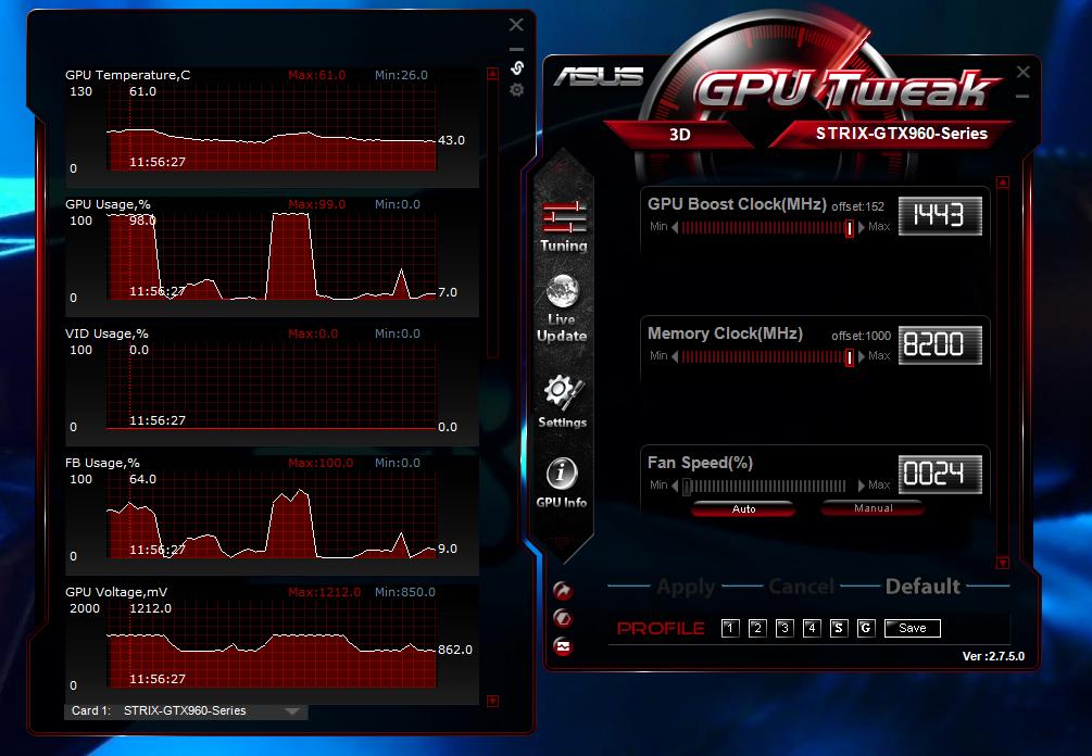 GPU tweak dari asus