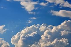 Imposante Wolken...