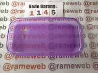 Jual Silikon Soft Case Samsung Galaxy Chat B5330 Ungu (Purple) Transparan
