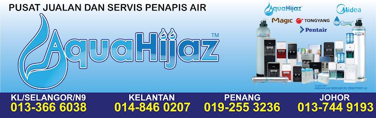 KEDAI PENAPIS AIR AQUAHIJAZ : PENAPIS AIR AQUAHIJAZ KINI HANYA RM449 (CASH & CARRY)