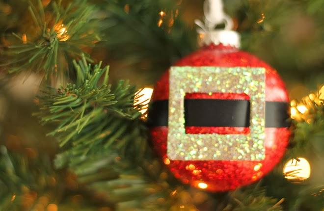 Famoso Fatto in casa: Fai da te una pallina cintura di Babbo Natale per  UG29