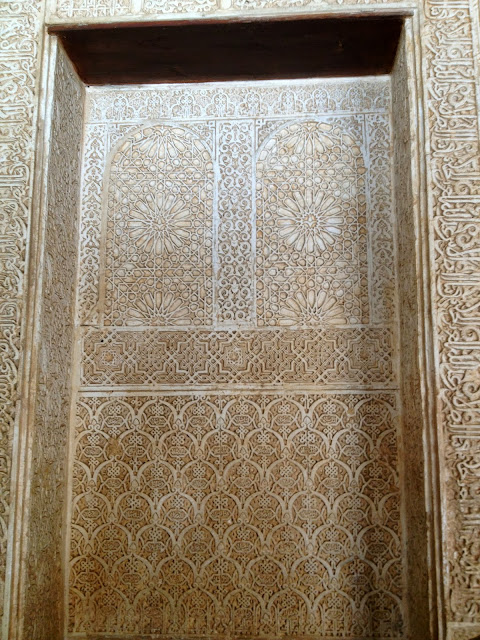 Intricate walls of the Alhambra on Semi-Charmed Kind of Life