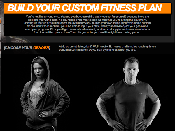Build Your Custom Fitness Plan