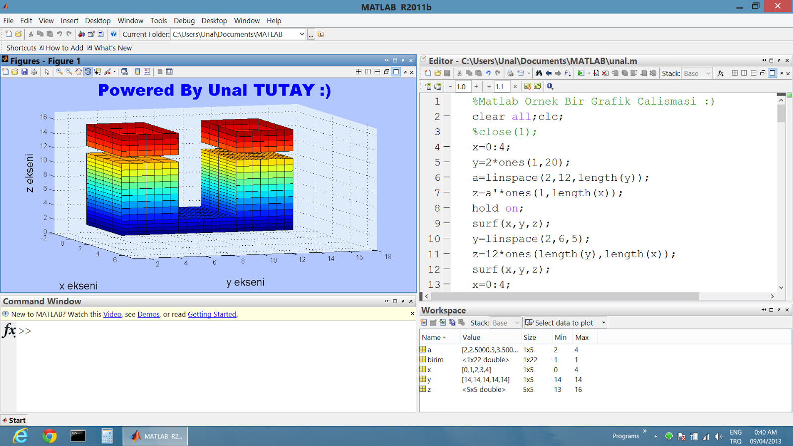 matlab application Fern, a program which uses matlab graphics to compute and display the barnsley fractal fern feynman_kac_1d , a.