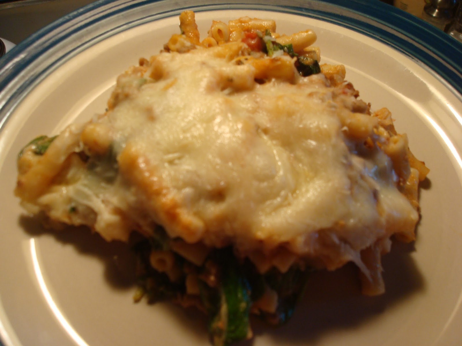 Cooking Lessons and the Spice of Life: Lasagna-Style Baked Ziti