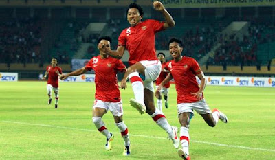 Video Jepang 5 - 1 Indonesia Hasil Kualifikasi Piala Asia U22 12 Juli 2012