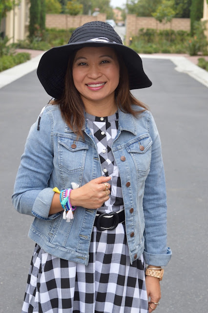 Over 40 Fashion, Loft Denim Jacket, weekend style, San Diego Hat Company