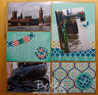 Sneak Peek Team Training Scrapbook Page using Divided Page Protectors from Bekka Prideaux