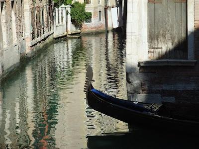 canal, gondola, venice, italy, city