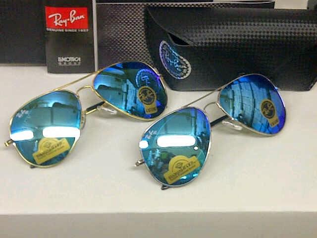 Jual Kacamata Rayban Aviator Diamond Hard Blue KW grade super murah ... 9881c5ea0b