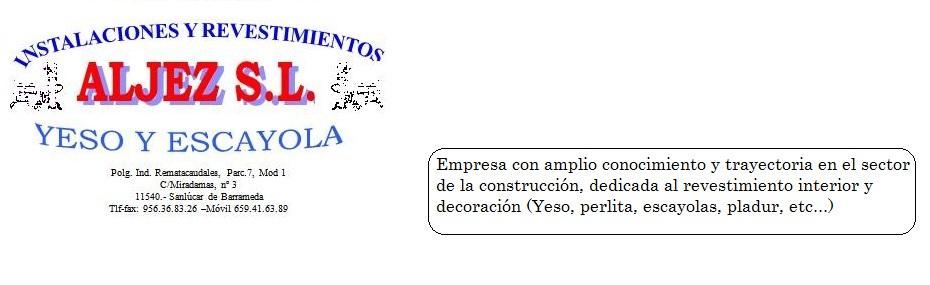 Instalaciones y Revestimientos Aljez S.l.