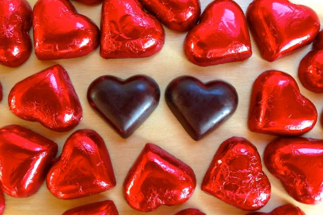 Vegan Valentine: Divine 70% Dark Chocolate Hearts