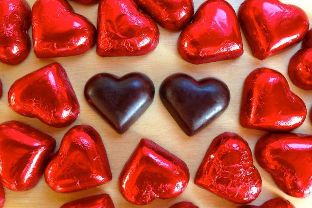 Vegan Valentine: Divine 70% Dark Chocolate Hearts