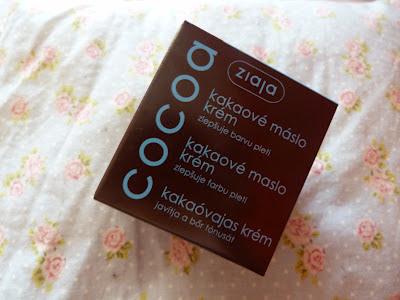 Recenzia: Ziaja- Kakaové máslo/krém