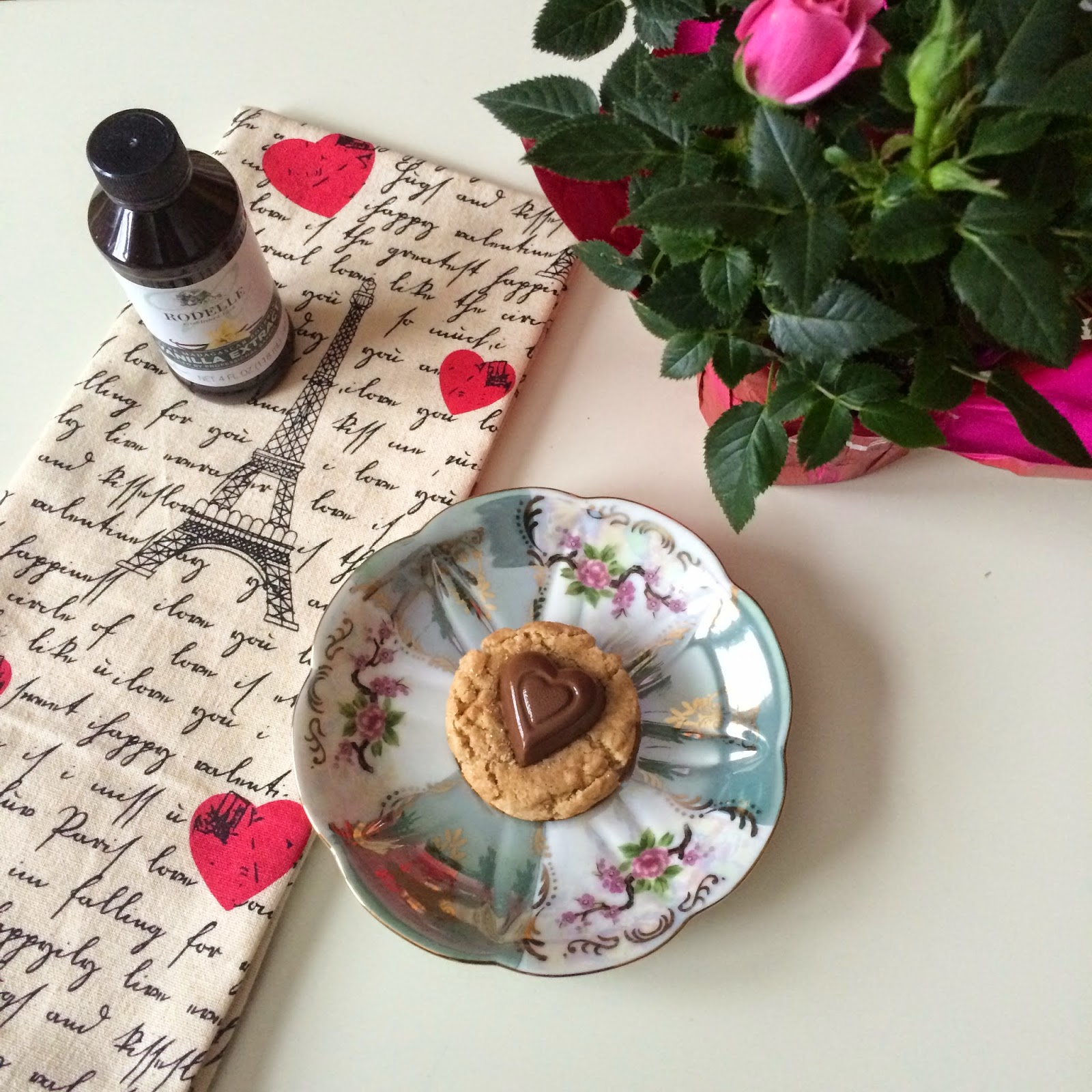 Peanut Butter Snickerdoodles, Cookie, Recipe, Valentine's Day
