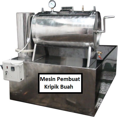 Mesin Vacuum Frying (Pembuat Kripik)