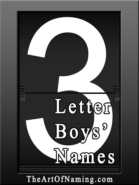 The Art Of Naming Cool 3 Letter Names For Boys