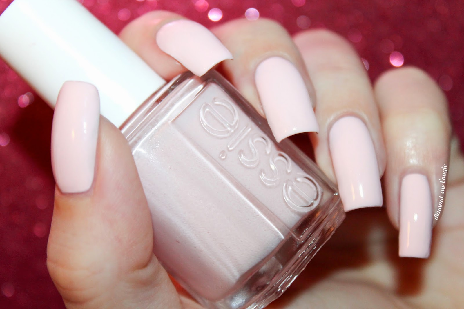 "Swatch of nail polish ""Romper Room"" from Essie"