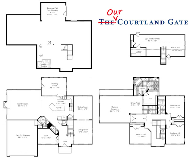 Lot 106: Options & Selections Ryan Homes Courtland Gate Floor Plan on ryan homes courtland gate basement, ryan homes courtland gate model, ryan homes ranch floor plans,