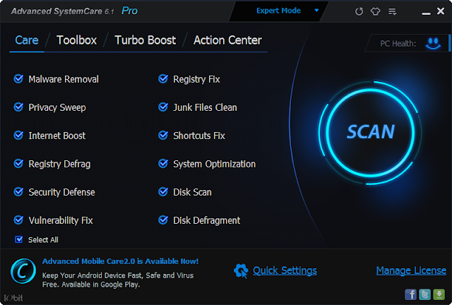 WatFile.com Download Free Advanced SystemCare 6 PRO + Key + Crack + Patch Free Download Full