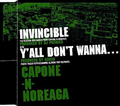 Capone-N-Noreaga – Invincible / Y'all Don't Wanna… (CDM) (2001) (320 kbps)