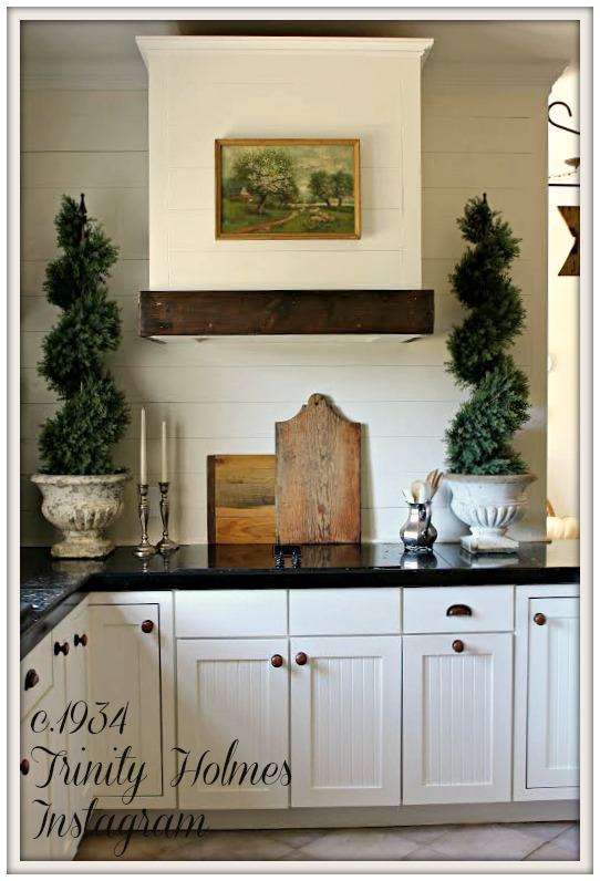 Farmhouse Kitchen-From My Front Porch To Yours-How I Found My Style Sundays- c.1934 Trinity Holmes Instagram