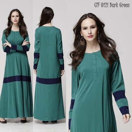Koleksi Terhangat Best Seller Cleo Joint color Jubah NURSING FRIENDLY Sangat Menawan