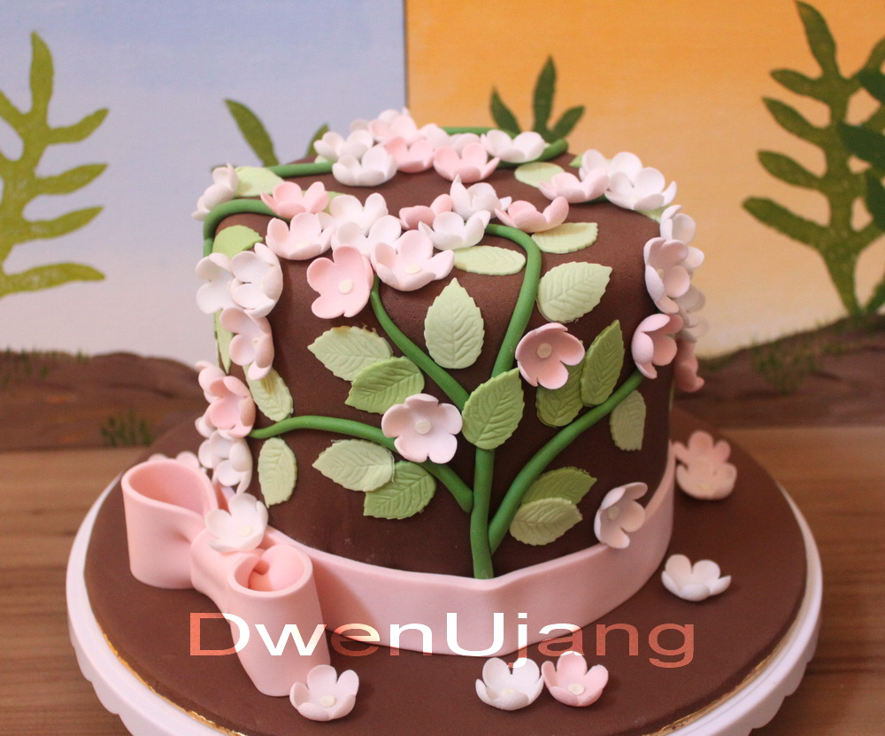 Dwen The Cool Things I Love Flower Power Cake As Engagement