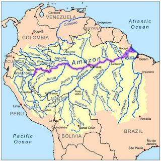 La Vertiente Hidrográfica del Amazonas