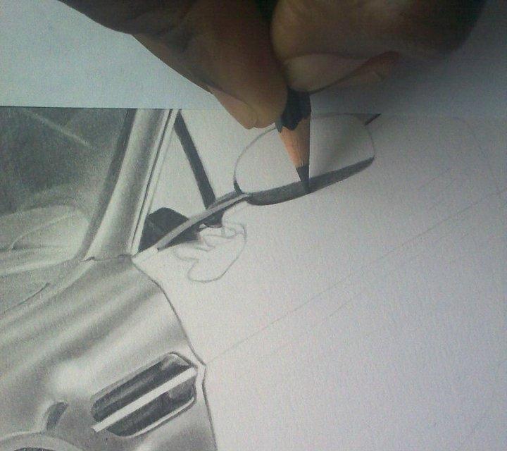Kelvin Okafor Art: Aston Martin V12 Vantage