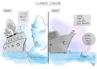 thoughts about climate change Climate change has moved from being predominantly a physical phenomenon to being simultaneously a social phenomenon and these two phenomenon are very differentit is a story about the meeting of nature and culture.