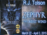 R.J. Tolson's ZEPHYR-The West Wind  Giveaway