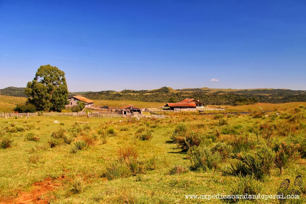 Fazenda Santa Cândida, início da trilha para o Cânion Laranjeiras